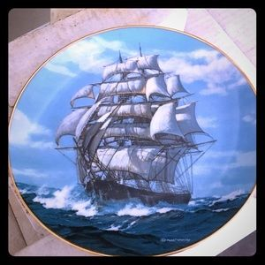 Golden Age Clipper Ships Collector Plate